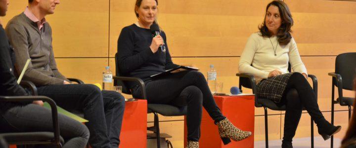 """""""Die Rolle der Medien in unserer Demokratie"""" – Podiumsdiskussion mit Anja Reschke, Aydan Özoğuz und Ingo Zamperoni"""