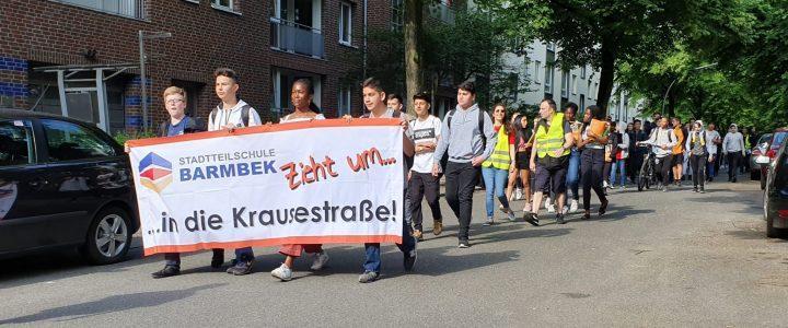 Umzug in die Krausestraße